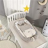 LTSWEET Multifuncional Nido de Bebé Recién Nacido Reductor con Edredón...