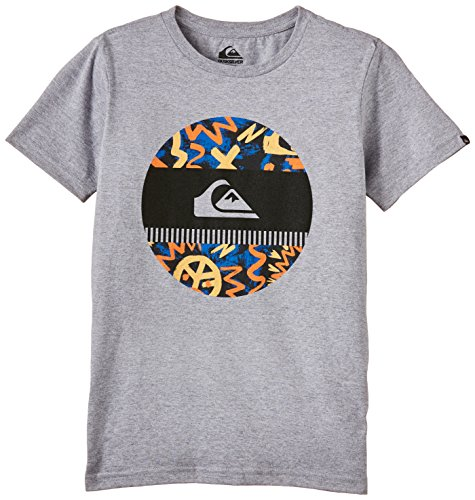 Quiksilver CLAS stydi scobis Camiseta de niño, niño, Classtydiscobis, Gris, M