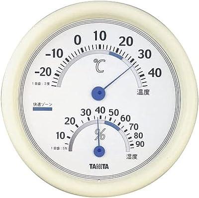 タニタ 温湿度計 温度 湿度 アナログ ホワイト TT-513 WH