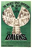 Dr. Who and The Daleks Movie Poster (68,58 x 101,60 cm)