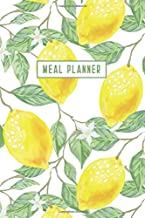 Meal Planner: Weekly Food Planner Journal Book with Grocery List - The Notebook To Plan Dinner And More -