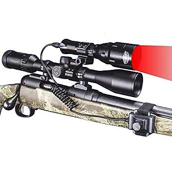 Wicked Lights A48iC RED Night Hunting Light Kit for Predator varmint & Hog Complete Red led Light kit