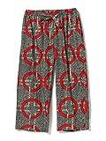 (レイビームス)Ray BEAMS/パンツ MARMARI サークル柄 パンツ レディース grey*red ONE SIZE