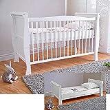 BABY Gitterbett Babybett Kinderbett mit Aloe Vera...