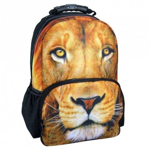 Grand Sac A Dos Cartable THÈME Photo Animal Lion NOUVEAUTÉ Maxi ET Mini