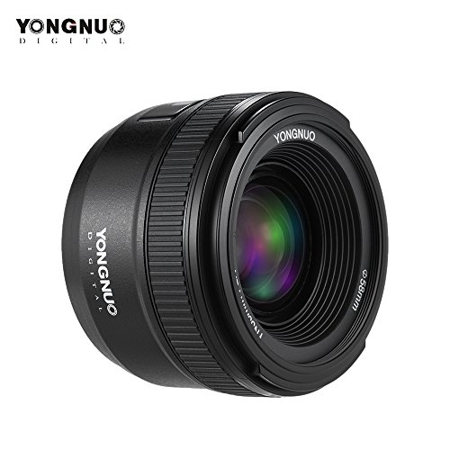 YONGNUO YN35mm F2N f2.0 Gran Angular AF/MF Lente del Foco Fijo F Montura para Nikon Cámaras 35mm