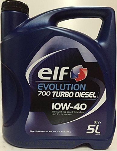 ELF ELTD10405 Evol. 700 Turbo Diesel 10W40 5L, Autre