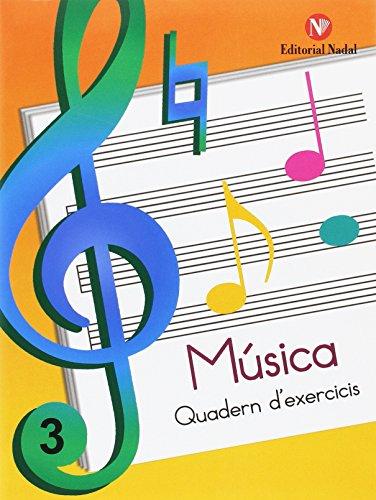 MUSICA 3 QUADERN EXERCICIS EP CATALAN (Musica Exercicis E.P.)