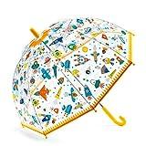 DJECO Paraguas Espacio Accesorios, Juventud Unisex, Multicolor (Multicolor), único