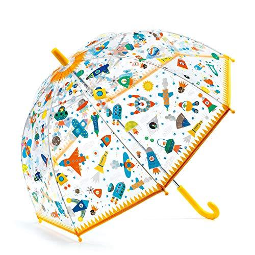Djeco Regenschirm, Raumzubehör, Jugendliche, Unisex, Mehrfarbig (Mehrfarbig), einzigartig