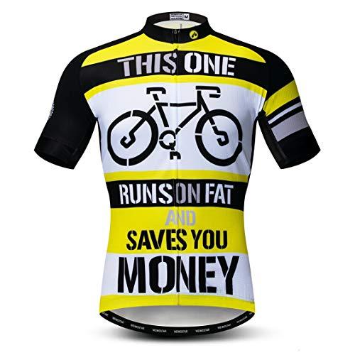 Maillot de ciclismo para hombre, ropa de ciclismo, camiseta de montaña, camiseta...