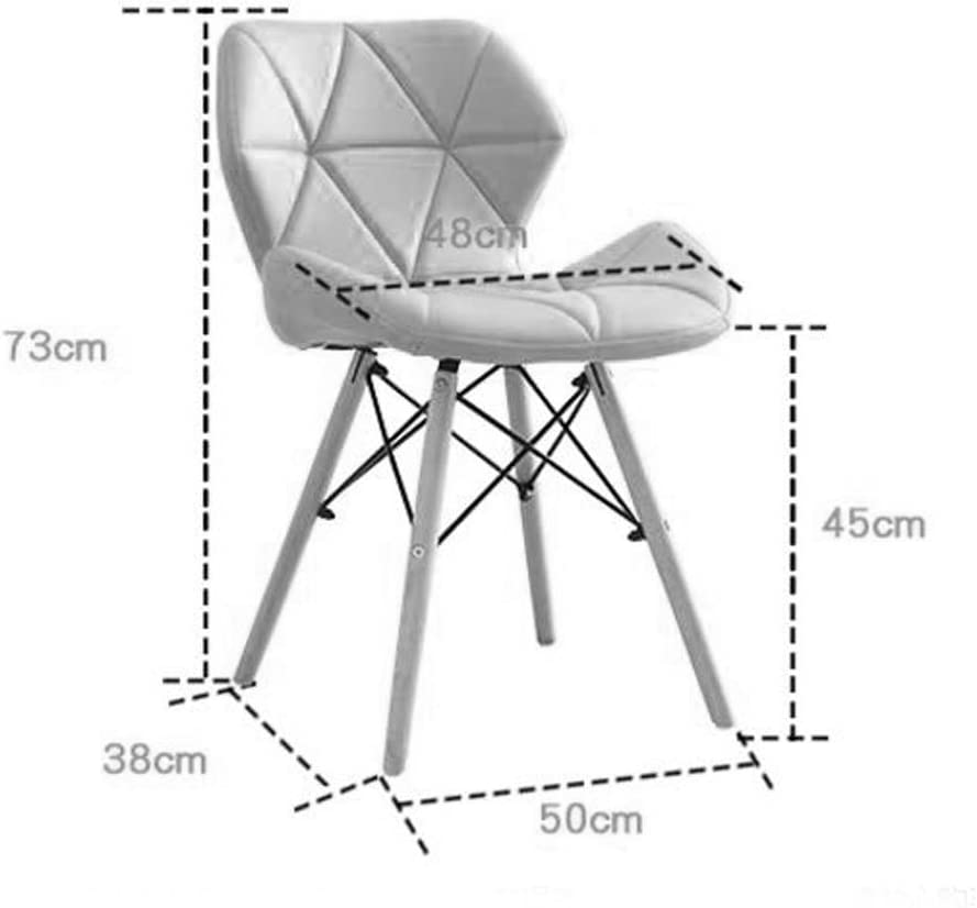 HXF- Chaire Créativité Chaise D'ordinateur Moderne Simple Étude Ménage Maquillage Tabouret Chaise De Salle À Manger Durable (Color : D) A