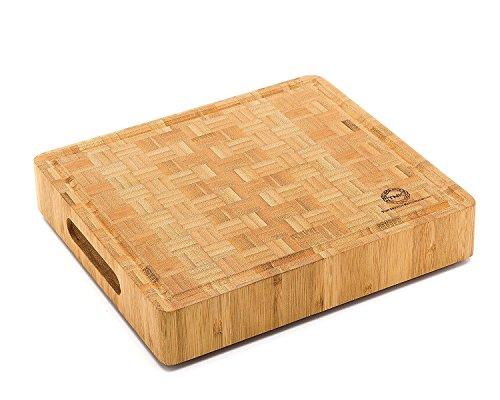 Small End Grain Bamboo Cutting Board | Professional, Butcher Block |...