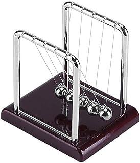 Haihuic Newton's Cradle, Balance Balls Newton's Laws Swinging Balls Office Desk Decoration Kinetic Motion Toy