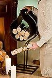 GILDE Holzschütte für Kamin, 75 cm, Rusty