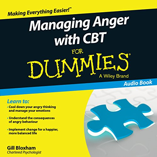 Managing Anger with CBT for Dummies audiobook cover art