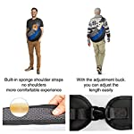 Pet Carrier Hand Free Sling Puppy Carry Bag Small Dog Cat Traverl Carrier with Breathable Mesh Pouch for Outdoor Travel Walking , Pet Supplies (blue) 12
