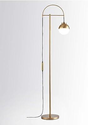 LICIDI Lámpara de pie LED lámpara de pie clásica Curva Bola ...