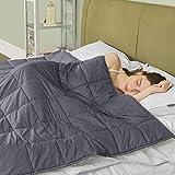 puredown® Gewichtete Decke für Schneller und Besser Einschlafen, 6.8kg Schwere Decke für 57-76kg...