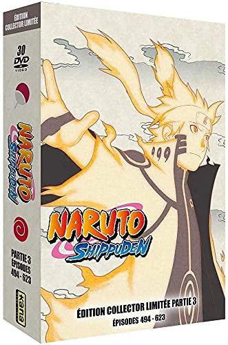 Naruto Shippuden-Intégrale Partie 3 [Édition Collector Limitée]