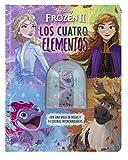 Frozen 2. Los cuatro elementos: Con una bola de hojas y 14 escenas intercambiables (Disney. Frozen 2)