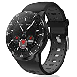 Smartwatch Donna Uomo, HopoFit HF06 Circolare Full Touch Orologio Fitness Impermeabile Activity...