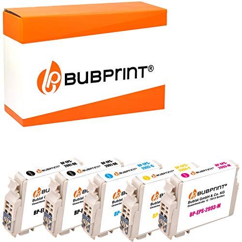 Bubprint Kompatibel Druckerpatronen als Ersatz für Epson T2991 - T2994 29XL für Expression Home XP-235 XP-245 XP-247 XP-332 XP-335 XP-342 XP-345 XP-432 XP-435 5er-Pack