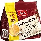 Melitta Melitta gemahlener Röstkaffee in Kaffeepads, 10 x 16+2 Pads, 100% Arabica, starkes Aroma, intensiver Geschmack, Stärke 4, BellaCrema Intenso, 1300 g