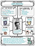 Graphic Organizer Posters: All-About-Me Web: 30 Fill-in Personal Posters for Students to Display with Pride