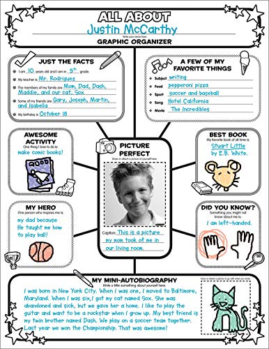 Compare Textbook Prices for Graphic Organizer Posters: All-About-Me Web: 30 Fill-in Personal Posters for Students to Display with Pride Pck Chrt Edition ISBN 8601410961527 by Scholastic,Teaching Resources, Scholastic,Scholastic,Charlesworth, Liza