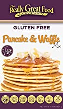 Really Great Food Company – Gluten Free Pancake & Waffle Mix - 16 ounce box - No Nuts, Soy, Eggs, Dairy - Vegan, Kosher, Non-GMO and Plant Based