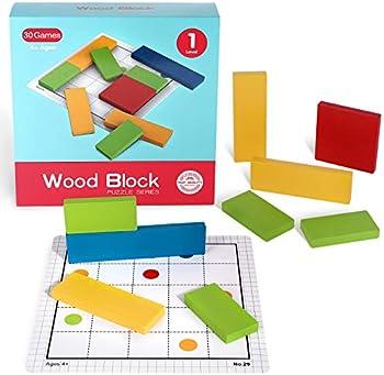KXT Wood Block Brain Teaser Puzzles (Level 1)