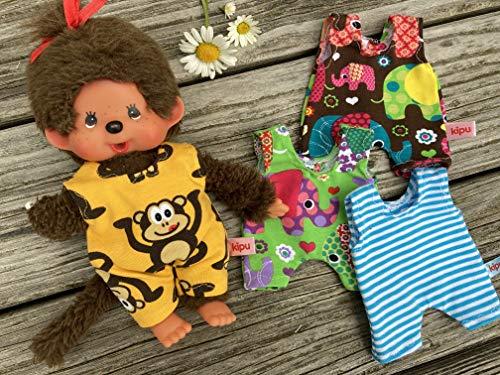 Puppenkleidung handmade für MONCHICHI Gr. 20 cm KLEIDUNG STRAMPLER Strampelanzug JUMPER neu