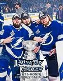 Tampa Bay Lightning Calendar 2021-2022: 2022 Monthly Planner Agenda PLUS 3 Months For NHL Super Fans