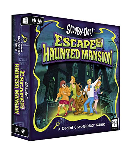 Usapoly Scooby-DOO: Escape from The Haunted Mansion – A Coded Chronicles Game