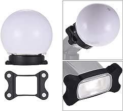 On-camera Flash Diffuser Ball Magnet Adsorption Soft Balls for Nikon Canon Yongnuo Godox Sigma Andoer Neewer Vivitar Speedlight