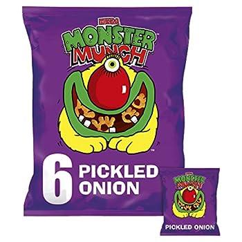 Walkers MEGA Monster Munch Pickled Onion 6 Pack