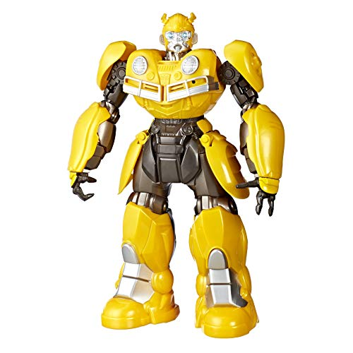 Figura Transformers Movie 6 Dj Bumblebee, Hasbro, Amarelo/Preto