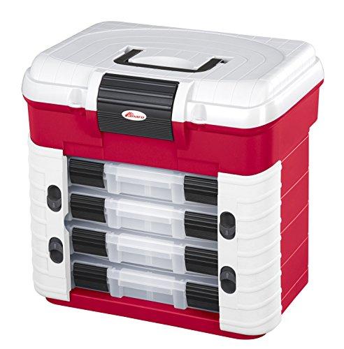 Werkzeugkasten aus Polypropylen mit ergonomischen Sitz, 501F (Rot)