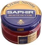 Crème Surfine, de la marca Saphir, para abrillantar zapatos, 50 ml Rojo (89) CHERRY RED