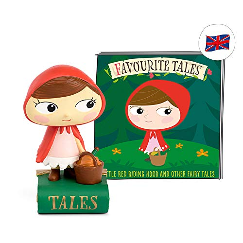tonies Hörfigur (Englische Version) Favourite Tales für die Toniebox: Little Red Riding Hood and other fairy tales