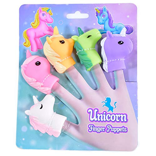 Kandy Toys TY5617 - Marioneta de Dedo de Unicornio