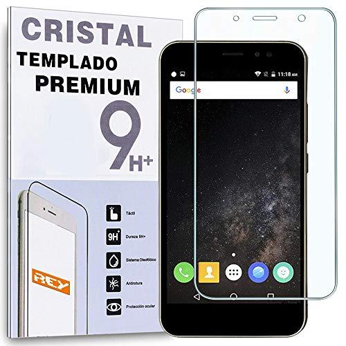 REY Protector de Pantalla para ZTE Nubia N1 5.5', Cristal Vidrio Templado Premium