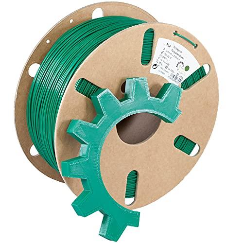 Ring Industrial Filaments   3D Drucker Filament PLA 1.75 mm   1kg Türkisgrün ca. RAL 6016   türkis grün