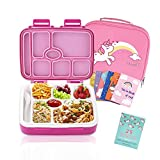 Best Bento Box For Kids - Bento Box For Kids Includes 7 Insulated Sealed Review
