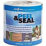 Mfm Building Product 50042 6'X33.5' Peel & Seal, 6 in. x 33.5 Ft, Aluminum