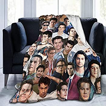 Yoguce Dylan O Brien Ultra-Soft Micro Fleece Blanket Blanket for Children/Adults/Parents/Grandparents Xmas Birthday Gift 50x40 Inch