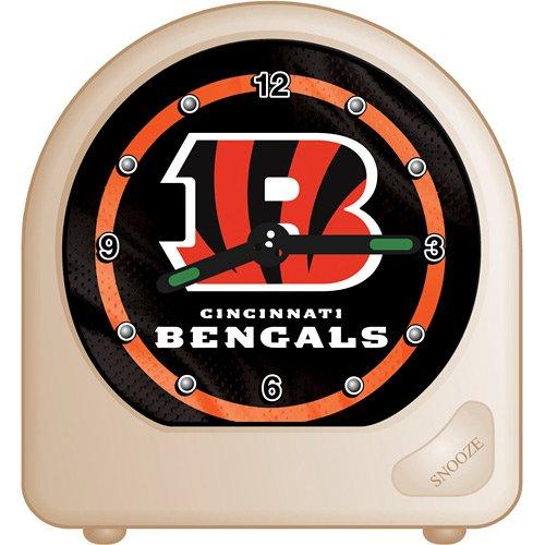 NFL Cincinnati Bengals Alarm Clock, Black