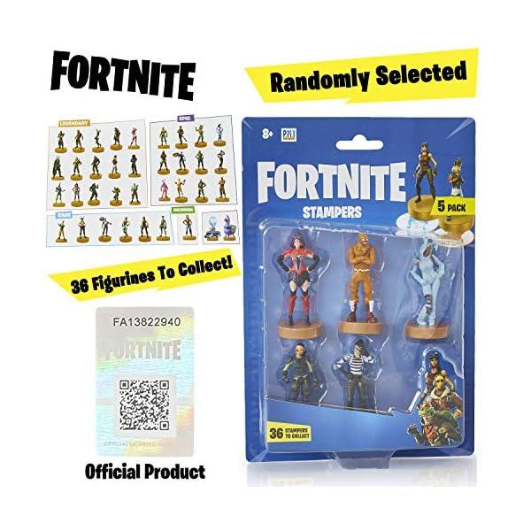 Fortnite figuras de acción | Juego de 5 figuras de Fortnite juguete coleccionables | Juguetes para adultos y niños… 4