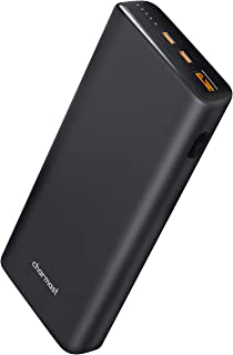 Charmast 23800mAh PD Power Bank, PD 65W Portable Charger, 3 Outputs & 1 Inputs Fast Charging External Battery Charger Comp...